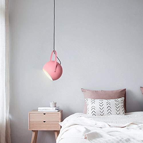 Interieur LED-theepot plafondlamp-aluminium lamp-blauw-grijs-roze-geel-warm licht, de woonkamer studeerkamer slaapkamer balkon modern minimalistisch macarons eetbaar