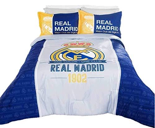 Real Madrid Spain Soccer Team Comforter Bedding Set Sports Futbol Gift FULL - 3 Pieces