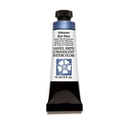 Daniel Smith Extra Fine Watercolor 15ml Paint Tube, Iridescent, Blue-Silver by Daniel Smith