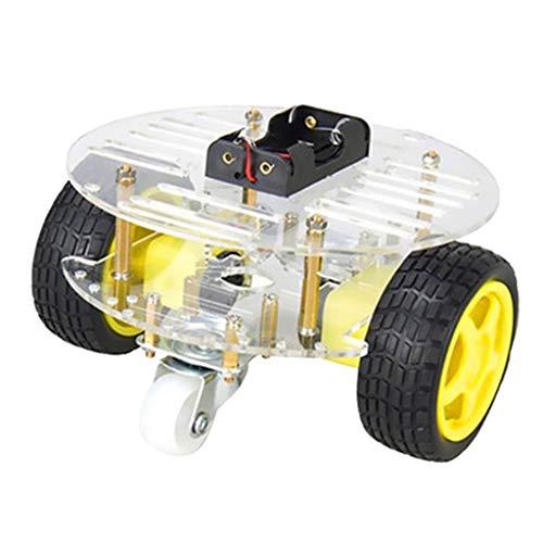 joyMerit Kit de Chasis de Robot de Coche Inteligente con Batería Recargable para