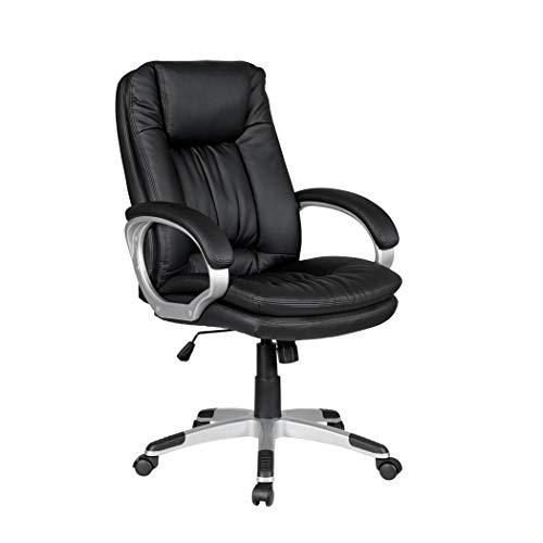 HTI-Line Chefsessel Vito Bürostuhl Drehstuhl Schreibtischstuhl PC Computerstuhl Ergonomischer Bürosessel