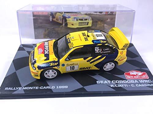 OPO 10 - Voiture 1/43 Seat Cordoba WRC Rallye Monte-Carlo 1999 Liatti (BR24)
