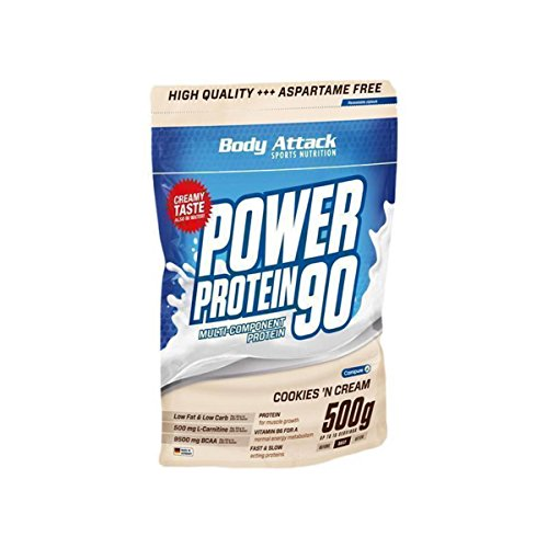 Body Attack Power Protein 90-500g Cookies n Cream