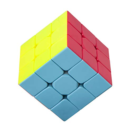 KAKATIMES Speed Cube [IQ Tester] Magic Cube 3x3x3 – Anti-Stress for Anti-Anxiety Adults Kits - High Speed Puzzles Toys