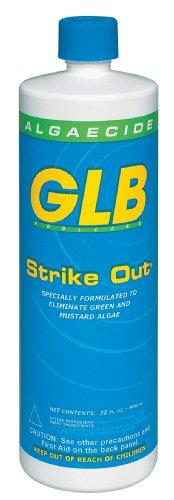 GLB Pool & Spa Products 71114 1-Quart Strike Out Algaecide