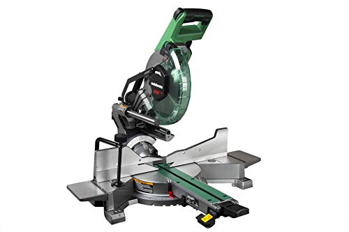 Metabo HPT C10FSHCT 10' Sliding Dual Bevel Compound Miter Saw with...