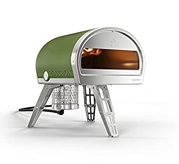 ROCCBOX by Gozney Portable Outdoor Pizza Oven - Gas Fired Fire & Stone Outdoor Pizza Oven - New Olive Green