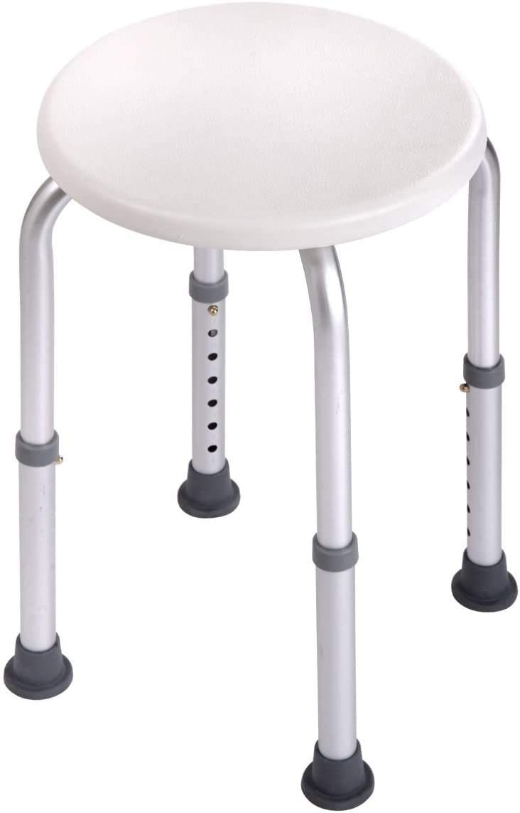 COLIBROX 7 Height Adjustable Medical Bath Shower Chair Stool Bat Free Dallas Mall shipping