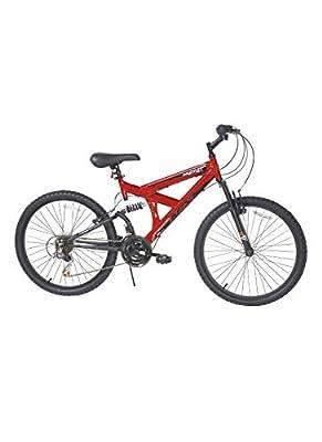Dynacraft 24 INCH B 18S Gauntlet RED Bike Bicycle