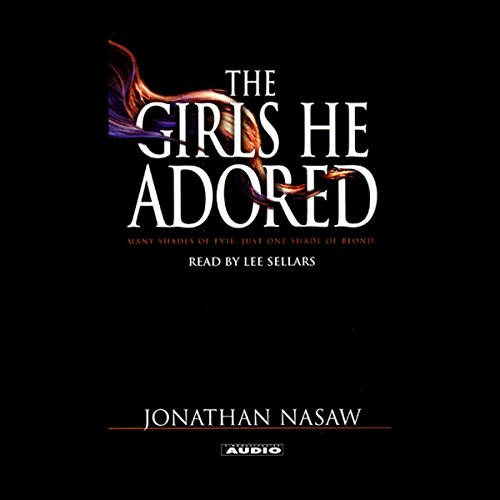 The Girls He Adored audiobook cover art
