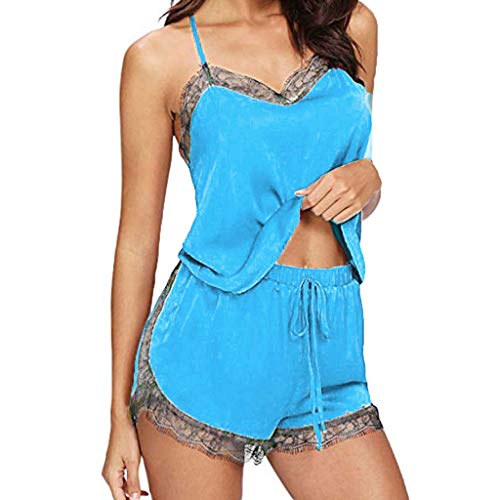 Innerternet Sexy Dessous Sexy Ouvert Babydoll Reizwäsche Damen Erotik Spitze Lingerie Split Fashion Sexy Lace Nachtwäsche Dessous Versuchung Babydoll Satin Cami Top Pyjama Sets