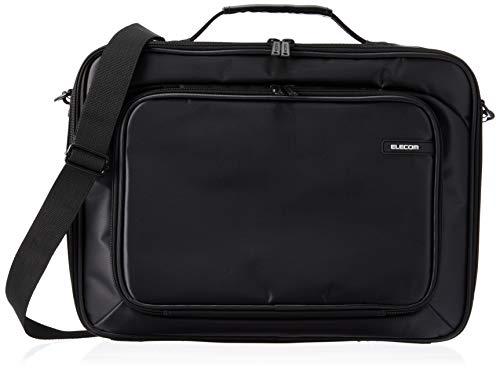 エレコム ビジネスバッグ キャリングバッグ A4対応 16.4インチワイド アタッシュケースタイプ ブラック BM-SDHABK