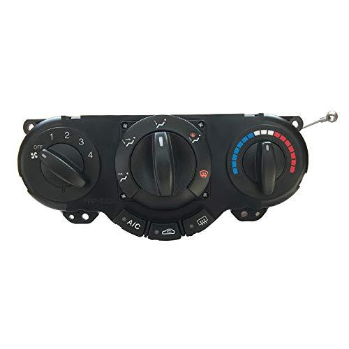 SODIAL Panel De Control del Calentador De Aire Acondicionado De Coche 96615408 Interruptor para Clima del Aire Acondicionado para Daewoo Lacetti Chevrolet Nubira Optra Excelle