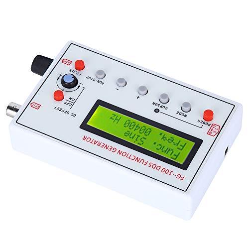 FG‑100 DDS Generador de funciones Frecuencia sinusoidal 1HZ‑500KHz Contador Señal Generador Medidor