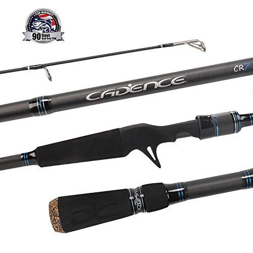 Cadence CR7B Baitcasting Rods Fast Action Fishing Rods Super...