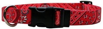 Yellow Dog Design Dedication Standard Easy-Snap Super beauty product restock quality top! Bandana Collar Blue