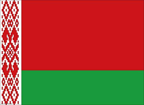 Tischsets | Platzsets - Weißrussland Flagge - 10 Stück - hochwertige Tischdekoration 44 x 32 cm für weißrussische Feierlichkeiten, Mottopartys & Fanabende