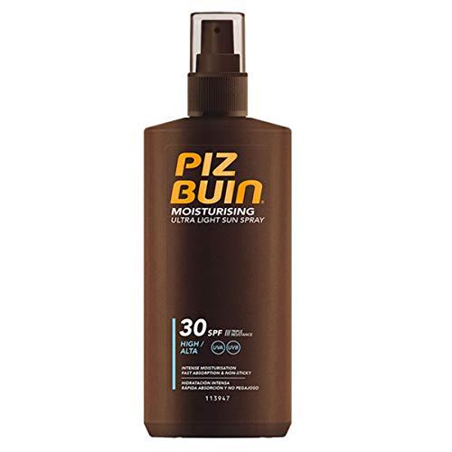 Piz Buin Ultra Light Sun Spray LSF 30, schnell einziehendes Sonnenspray mit dreifach Sonnenschutz (1 x 200 ml)