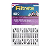Filtrete 20x25x5, AC Furnace Air Filter, MPR 1550 DP, Healthy Living Ultra Allergen Deep Pleat, 1-Pack