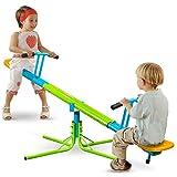 Pure Fun Heavy Duty 360-Degree Kids Swivel Seesaw, Indoor or...