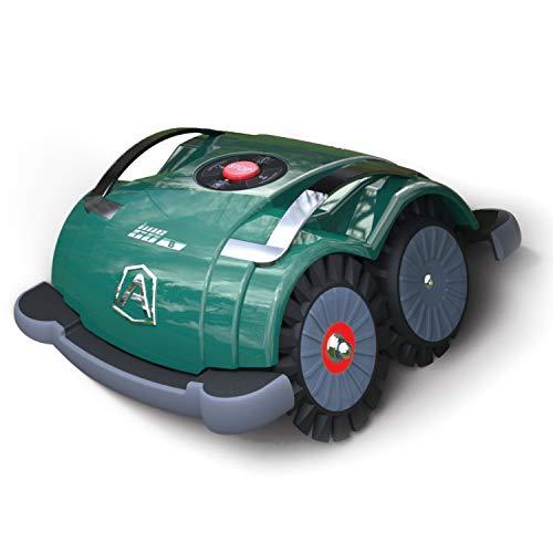 Ambrogio Robot AM060B0K7Z Rasaerba Senza Installazione, Verde, 41 x 24 x 20 cm
