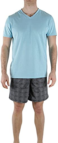 Hom - Pyjama court Moka - (Bleu M)