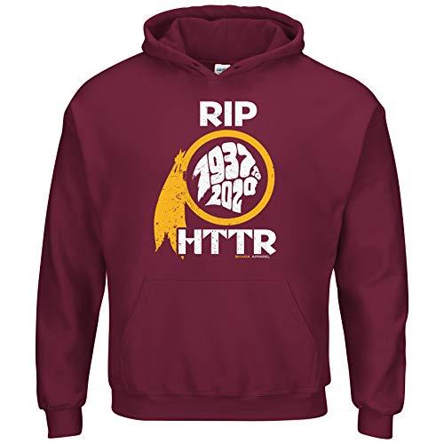 HTTR Maroon T-Shirt Smack Apparel Washington Football Fans Sm-5X R.I.P