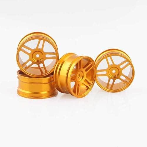 4PCS favorite 1:10 Aluminum Alloy Wheel Hub 94123 Universal W 94122 Recommended Metal