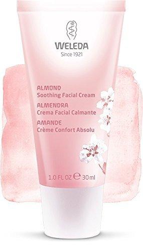 Crema de Día Calmante de Almendra, pieles sensibles - Weleda (30 ml) - Se envía con: muestra gratis y una tarjeta superbonita que puedes usar como marca-páginas!