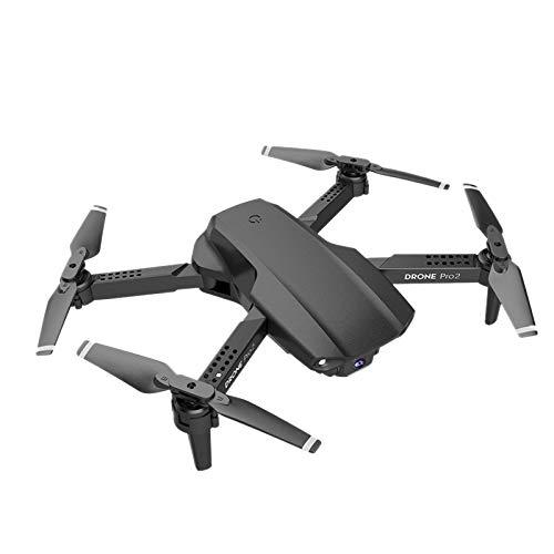 Nirmon E99 Pro RC VehíCulo AéReo No Tripulado 4K HD CáMara úNica ProfesióN WiFi FPV Quadcopter 50 Veces Focus Negro