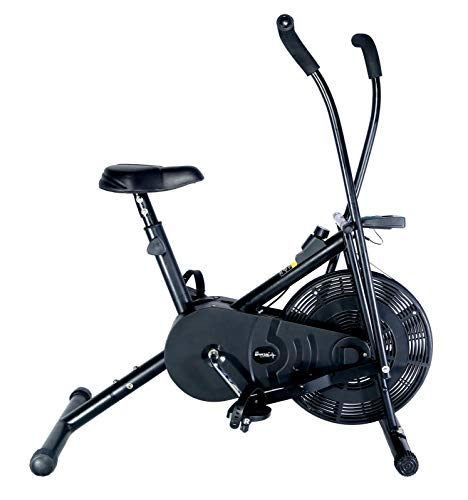 SPORTAL Air Bike Exercise Home Gym Cycle | Best Cardio Fitness Machine...