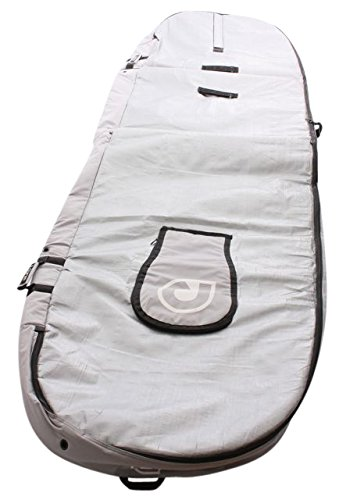 Curve SUP Bag Stand Up Paddleboard Bag Travel 10mm Heavy Duty 9'0, 9'6, 10'0, 10'6, 11'0, 11'6, 12'0, 12'6,14'0 4 ⚓ Heavy duty 600D water-resistant polycanvas base 😎 silver tarpee reflective upper 🛌 10mm waterproof shock absorbing travel specification super impact resistant foam core ➕ integrated paddle holder with padded blade cover 👍 detachable double adjustable shoulder strap ▪ super tough & padded ▪ premium YKK buckles through-out