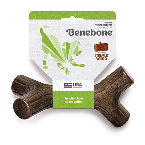 Product Image 3: Benebone Durable Stick Dog Chew Toy for Aggressive Chewers, Maplestick. Made in the USA.