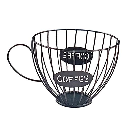 Fenteer Kaffee Kapselhalter, Kaffee Pod Halter Kaffee Kapsel Lagerung Korb Kaffee Pod Organizer Halter Speichern Raum für Home Cafe Hotel Bar