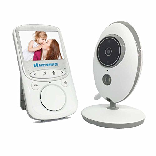 DXNSPF Baby Monitor, Wi-Fi Digitale Monitoraggio Temperatura Ambiente Citofono Funzione, Casa Camera Letto Bambino Bambini