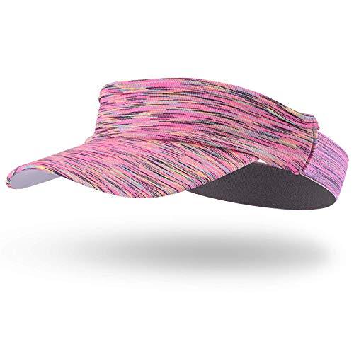 Arcweg Visera Mujer Hombre Sombreros para el Sol Talla Única Protección UV para Running Golf Tenís Deportes al Aire Libre Rojo
