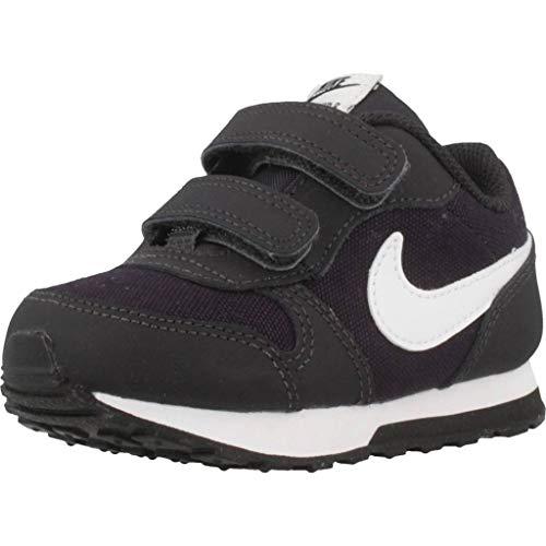 Nike MD Runner 2 (TDV), Zapatillas de Estar por casa Bebé Unisex, Multicolor (Oil Grey/White/Black...