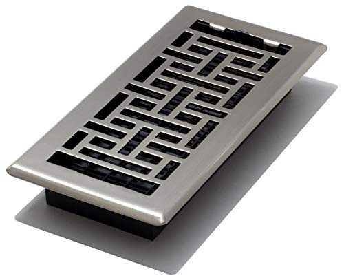 Decor Grates AJH410-NKL Floor Register, 4