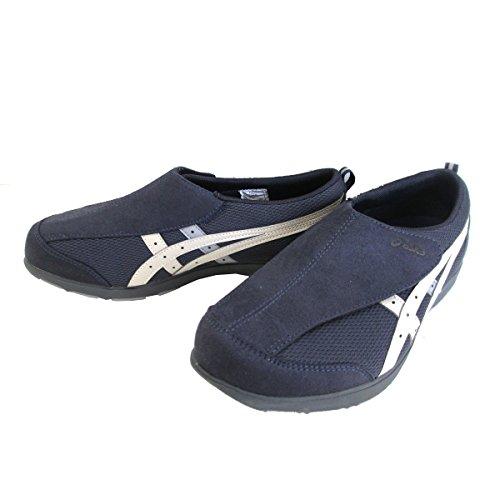 [アシックス] asics ライフウォーカー FLC101 シニア世代 健康志向 介護靴 介護シューズ リハビリサポートシューズ ピーコート×フェザーグレー(5812) (25.5cm)