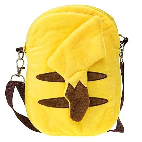 Bolsa De Pokemon, Mochila De Felpa, Peluche De Pikachu, Animales De Peluche De 20 Cm, Mensajero para Niños Y Niñas, Monedero, Regalos, Juguete Suave