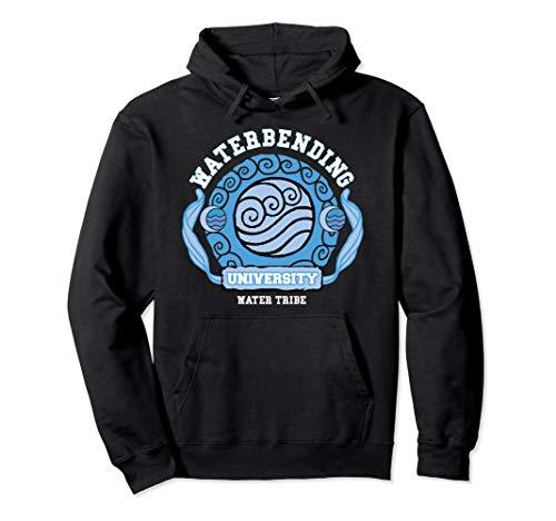 Water Bending University Logo Water Nation Pullover Hoodie