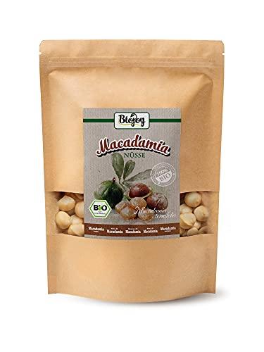 Biojoy Noci di Macadamia BIO, naturali, senza sale e non tostate (1 kg)
