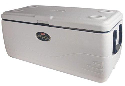 Coleman Signature OffShore Pro Series 150 Quart Marine Cooler W/ DIviders, Dry Storage 3000003694