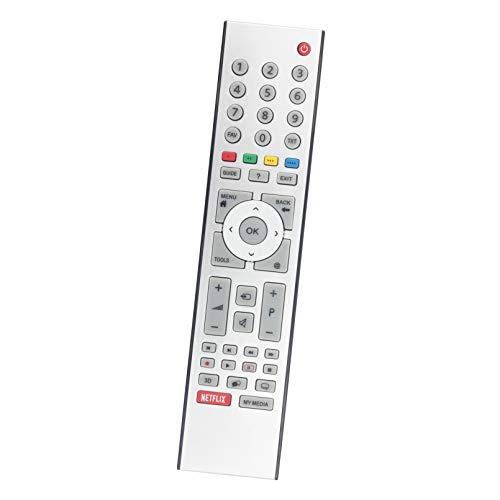 ALLIMITY TS5187R-5 TS5-R5 Mando a Distancia Reemplazar Apto para Grundig TV with Netflix TS5187R5 TS5187R-5 RC330481601 RC3304816/01 3.13924E+11 4TS5