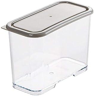 Cajie Boîtes à Lunch 1600/1000 / 700ML Congélateur Boîte de Rangement empilable en Plastique Alimentaire Conteneurs de Ran...