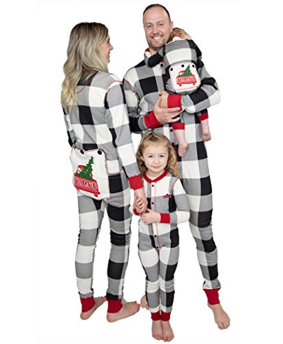 Lazy One Flapjacks, Matching Pajamas for The Dog, Baby, Kids, Teens, and Adults (Tailgate, Small)