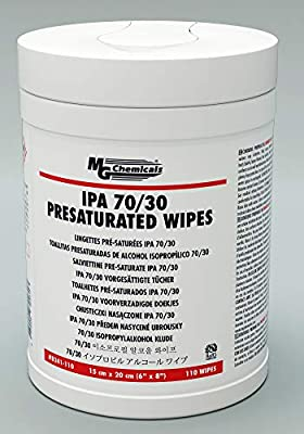 MG Chemicals IPA 70/30 Presaturated Wipes - Lint Free by MG Chemicals