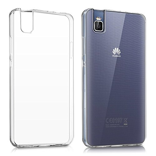 REY Funda Carcasa Gel Transparente para Huawei Shot X, Ultra Fina 0,33mm, Silicona TPU de Alta Resistencia y Flexibilidad