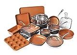 Gotham Steel 20 Piece All in One Kitchen Cookware + Bakeware Set...