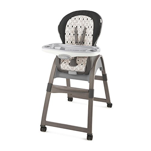 Ingenuity 3-in-1 Wood High Chair, Ellison - High Chair, Toddler Chair, and Booster